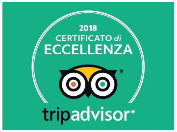 TripAdvisor 2019 Certificato di eccellenza