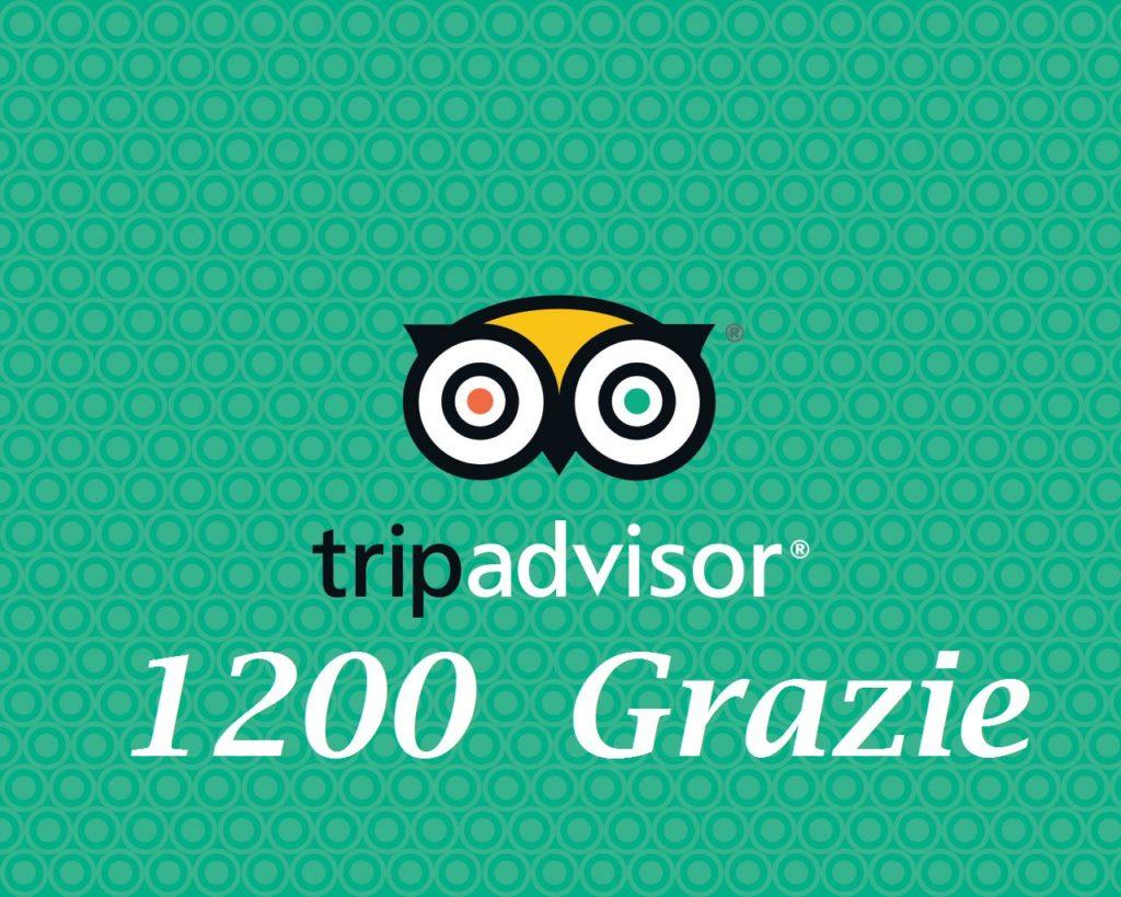 1200 Recensioni in Tripadvisor