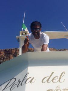 Perla del Mare - Il capitano GIovanni