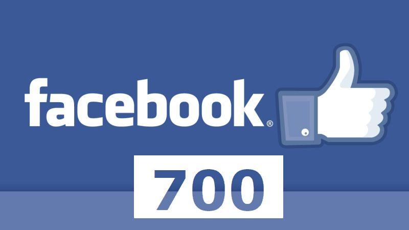 Facebook 700 Like