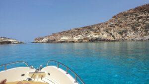 Perla del Mare - Verso l'isola dei Conigli - Lampedusa