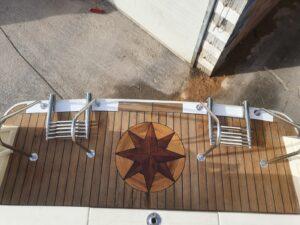 Facility per salire e scendere in acqua Gite in barca Perla del Mare Lampedusa