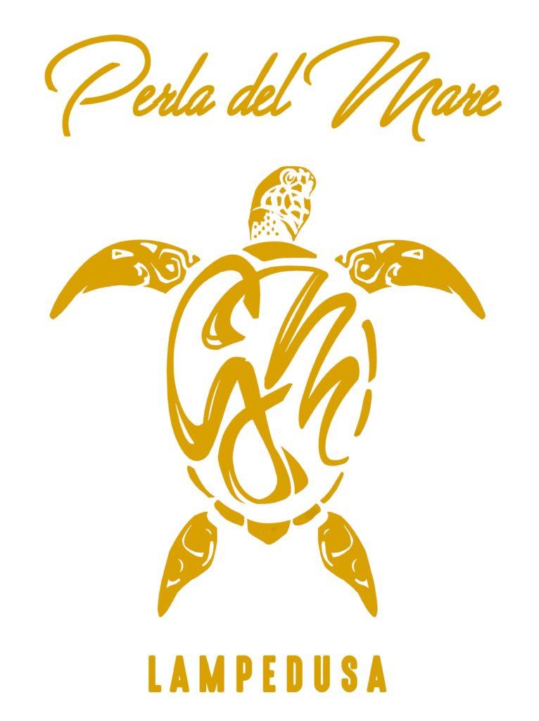 Logo Perla del Mare-Lampedusa-Gite in barca